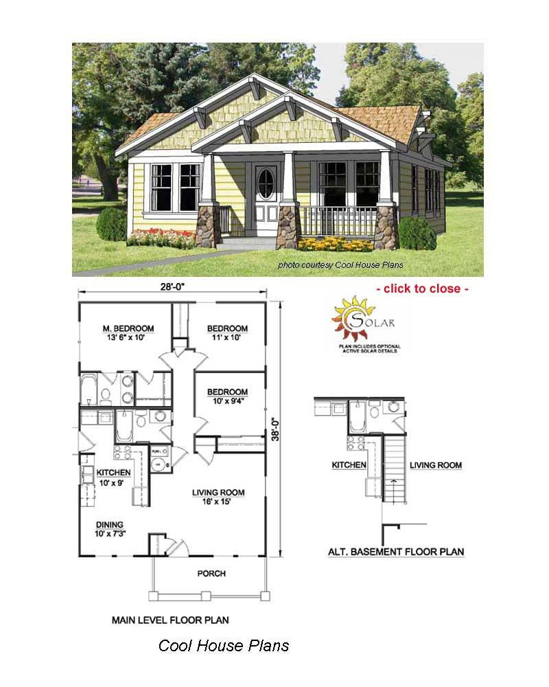 Small House Floor Plans with Porches Luxury Bungalow Floor Plans In 2020