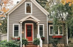Small House Pictures Images Awesome Small House Grey & Red Exterior