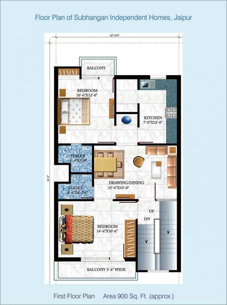 Small House Plans Under 700 Sq Ft 2020