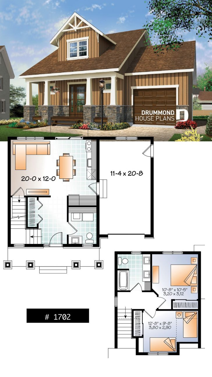 Small House Plans with Open Floor Plans 2020