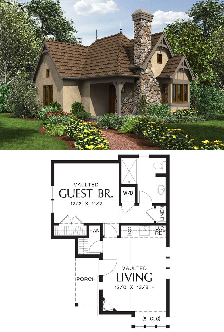 24 Enchanted Cottage plan