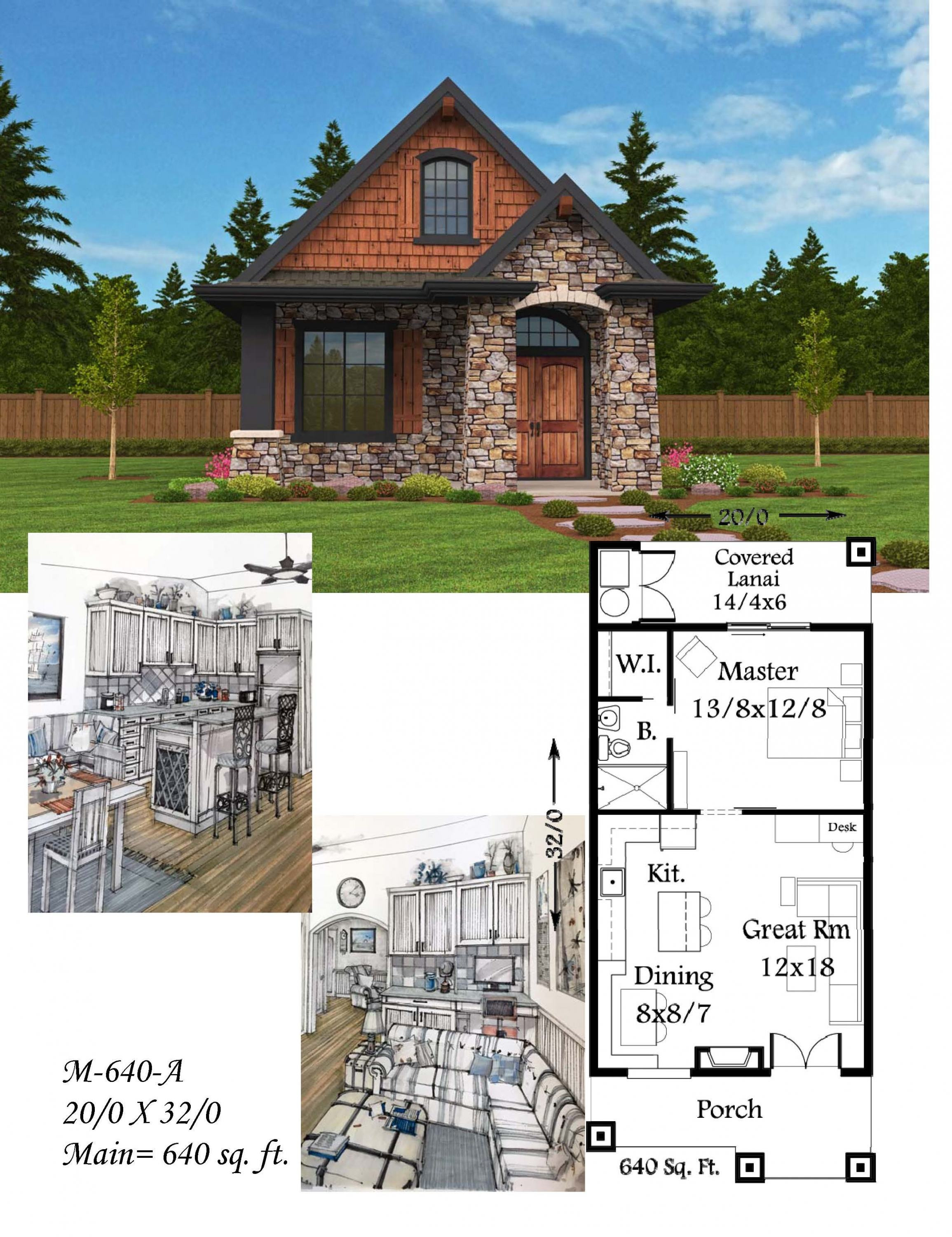 Small Houses Plans Cottage Fresh Montana