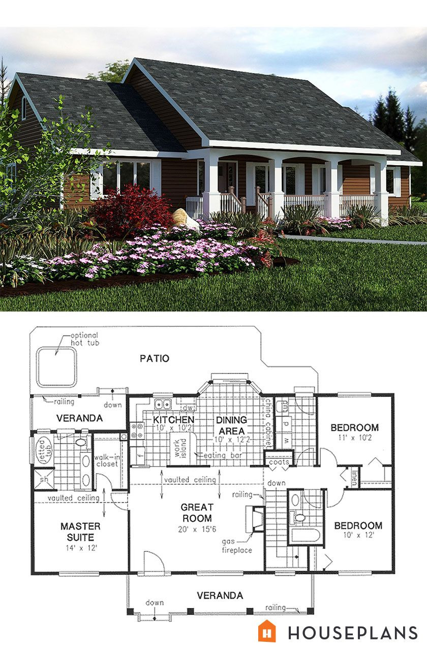 Small Retirement House Plans New Pin On Floor Plans