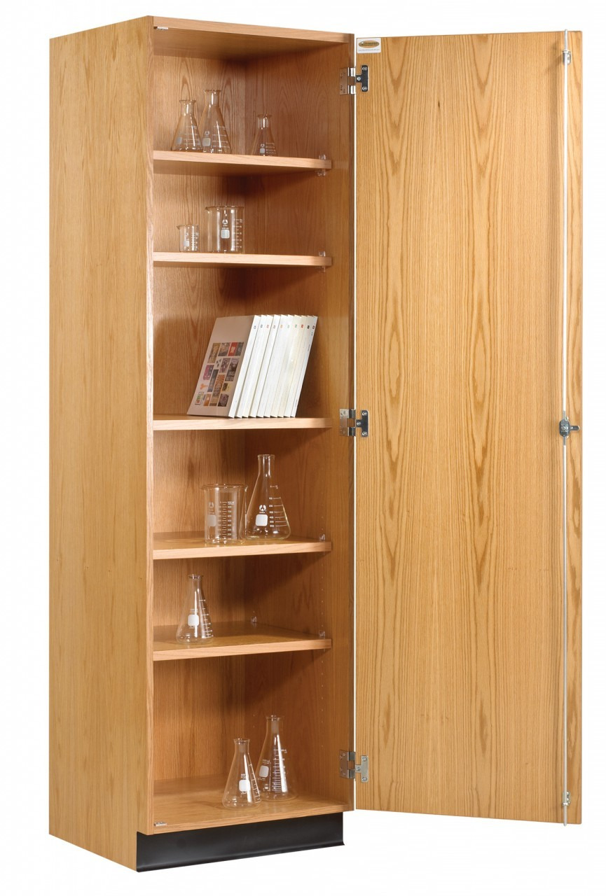 diversified 313 2422 tall wall storage cabinet solid doors 24 x 84