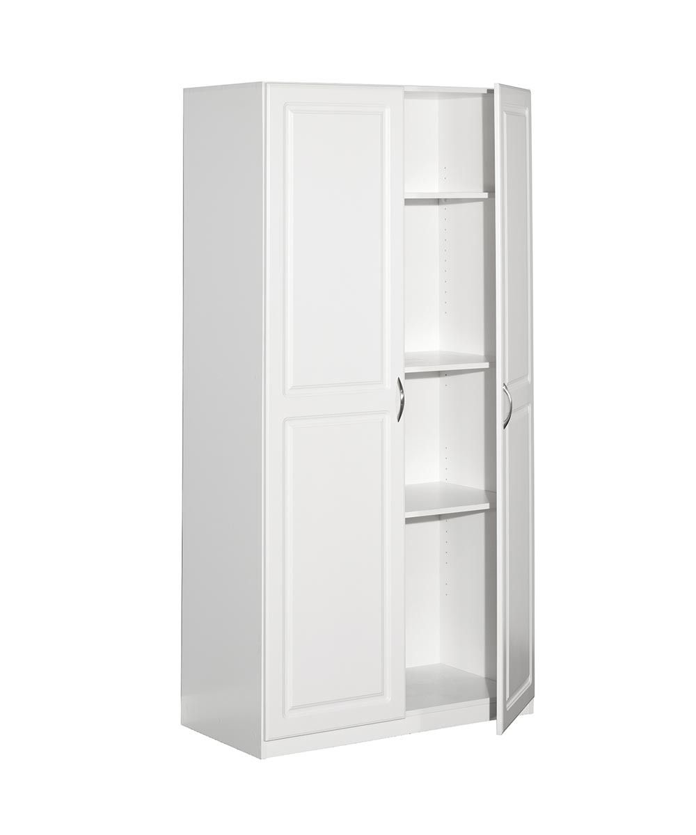 cabinet storage 2 doors white