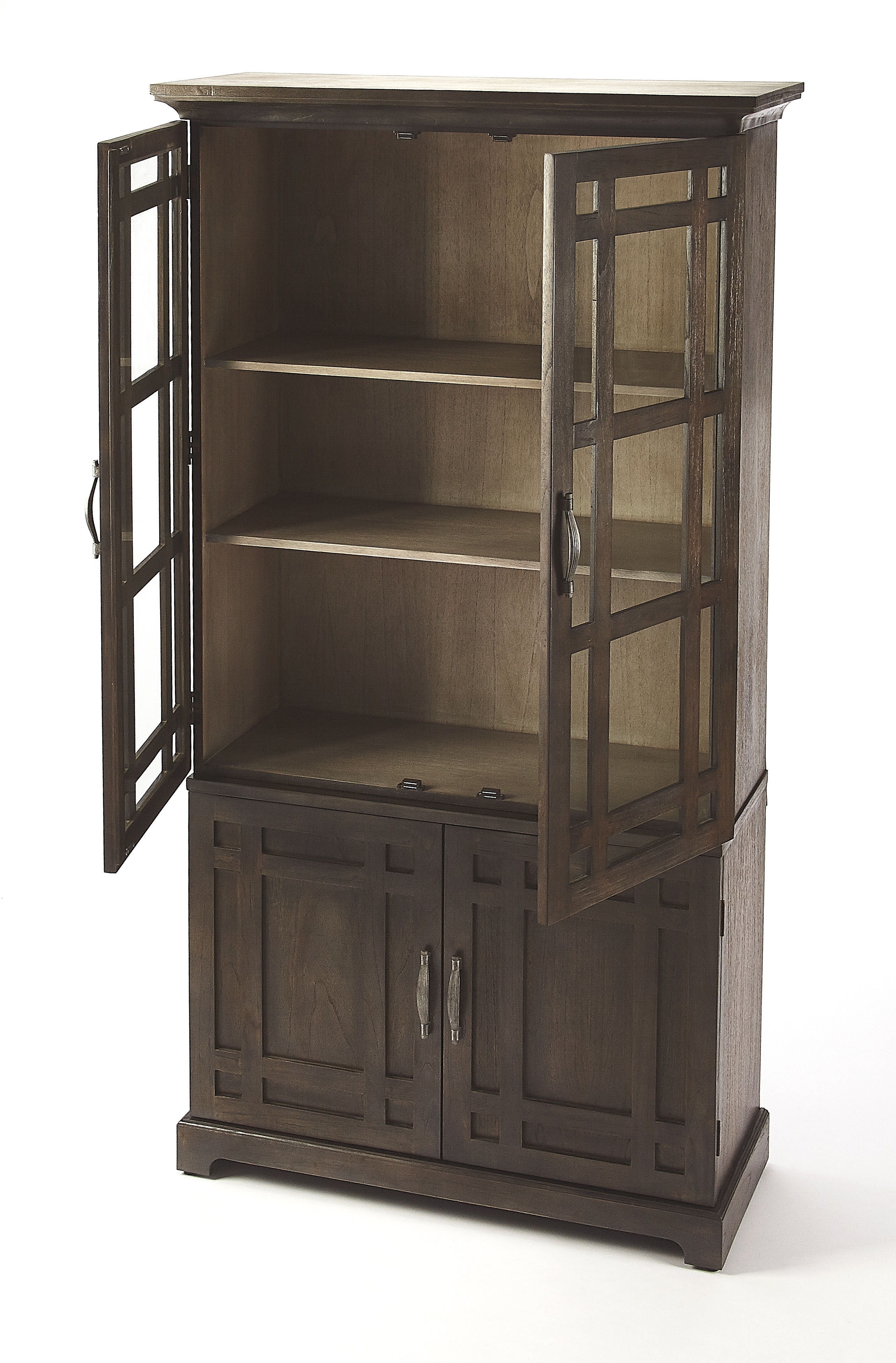 Butler Specialty Masterpiece Revival Dark Brown Tall Cabinet