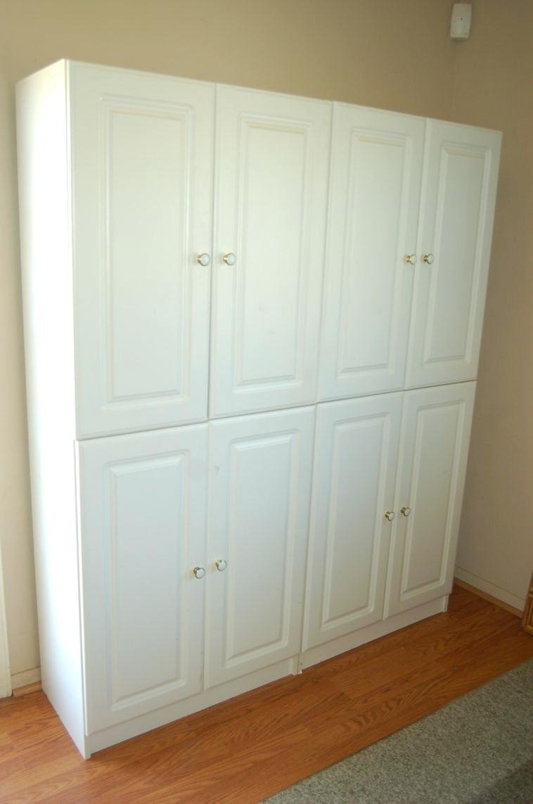 Tall Wood Storage Cabinets with Doors Beautiful Wooden Storage Closet with Doors – Calebdecor
