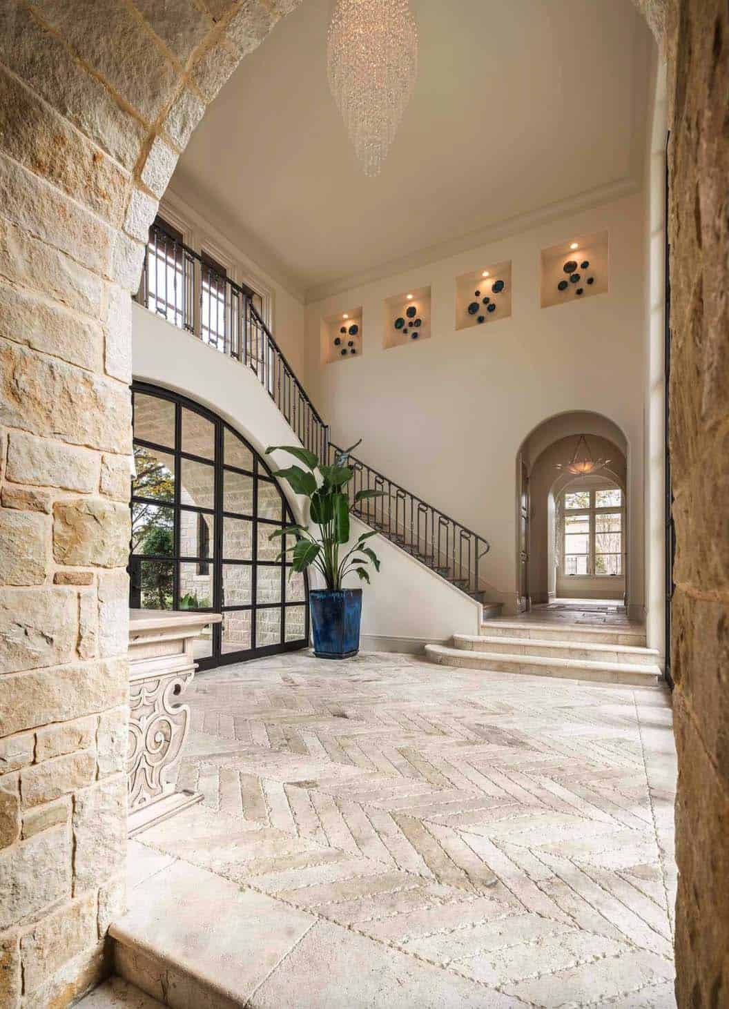 Mediterranean Style Home Simmons Estate Homes 02 1 Kindesign