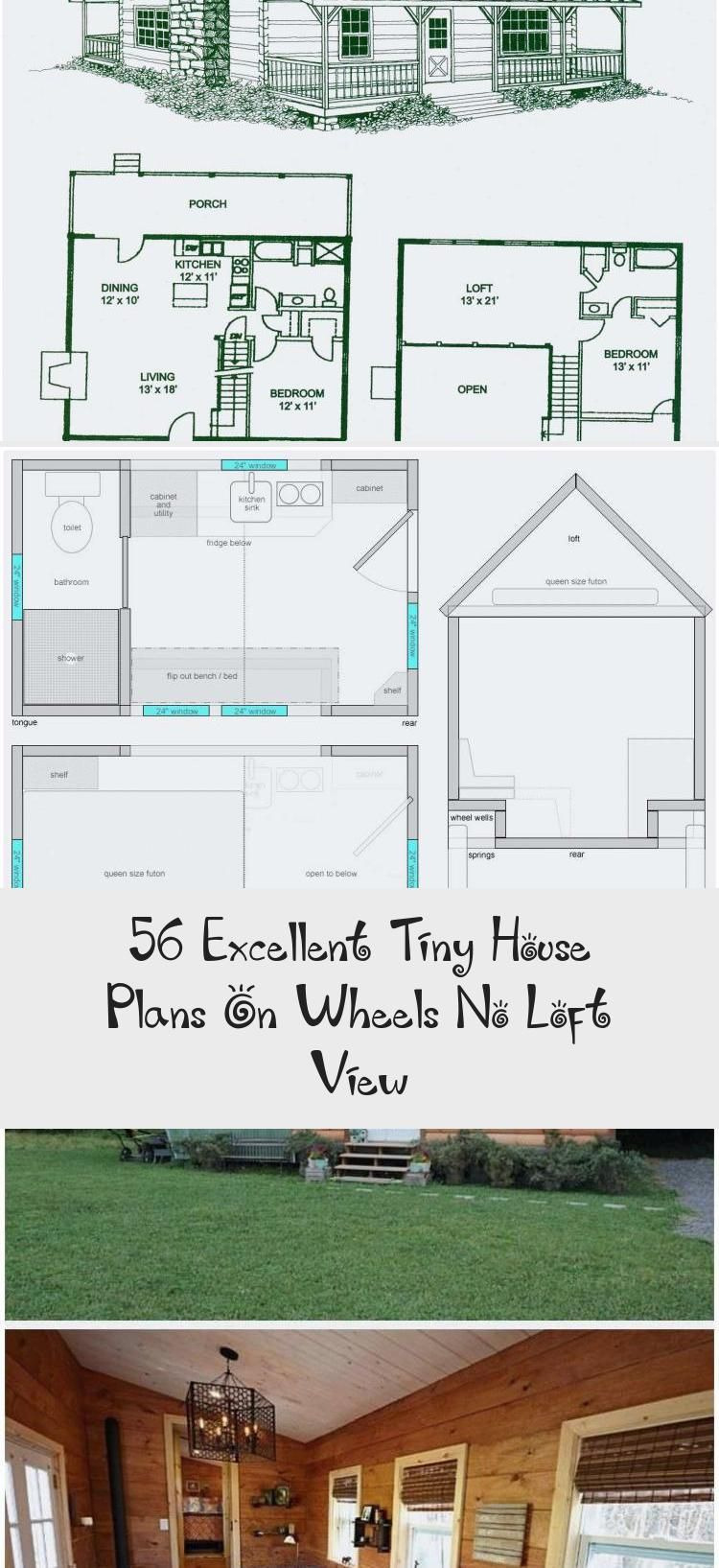 Tiny House Open Floor Plan New 56 Excellent Tiny House Plans Wheels No Loft View
