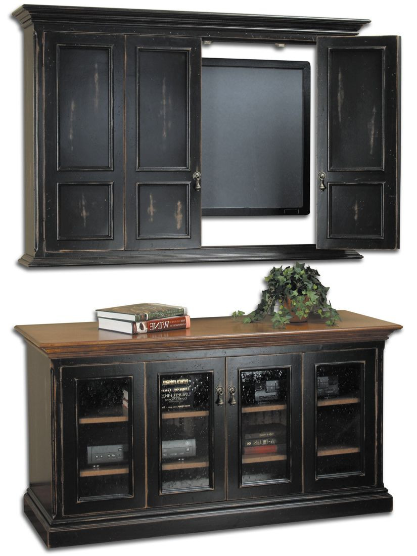 Tv Cabinet with Doors Unique Sumner Flat Screen Tv Wall Cabinet & Console