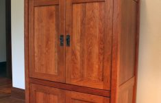 Tv Cabinets With Doors Awesome Custom Armoire Media Cabinet By Montana Cabinet & Canoe