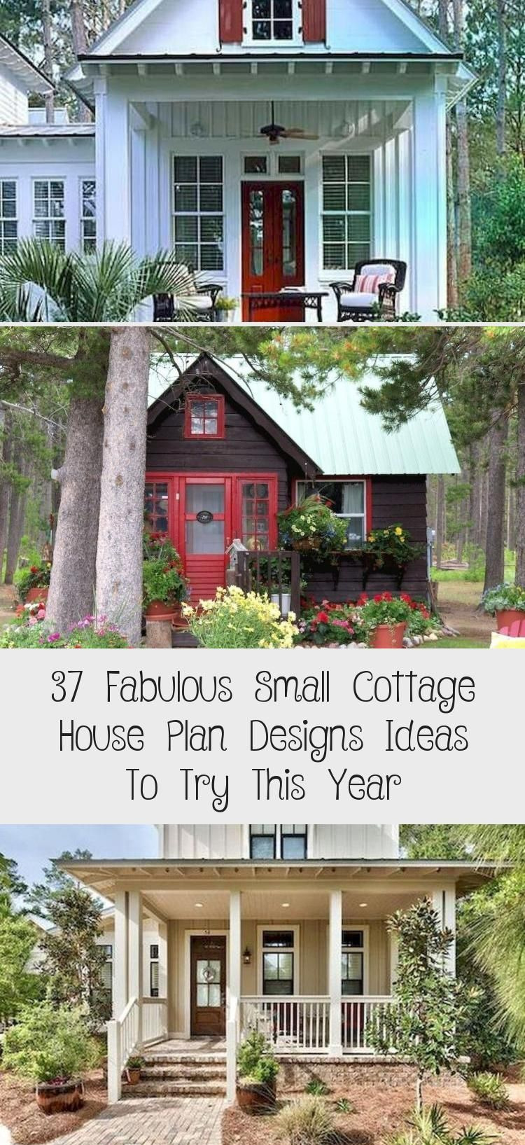 Unique Small House Designs Beautiful 37 Fabulous Small Cottage House Plan Designs Ideas to Try