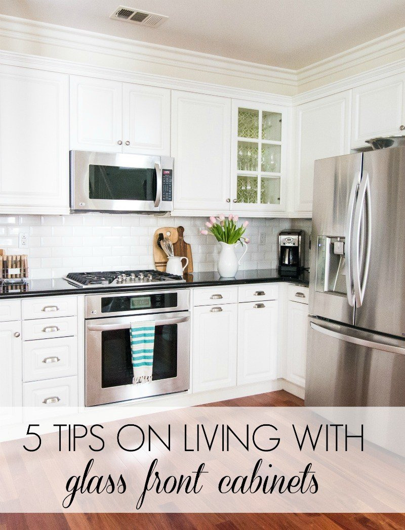 Upper Kitchen Cabinets with Glass Doors Beautiful 5 Tips On Living with Glass Cabinets A thoughtful Place