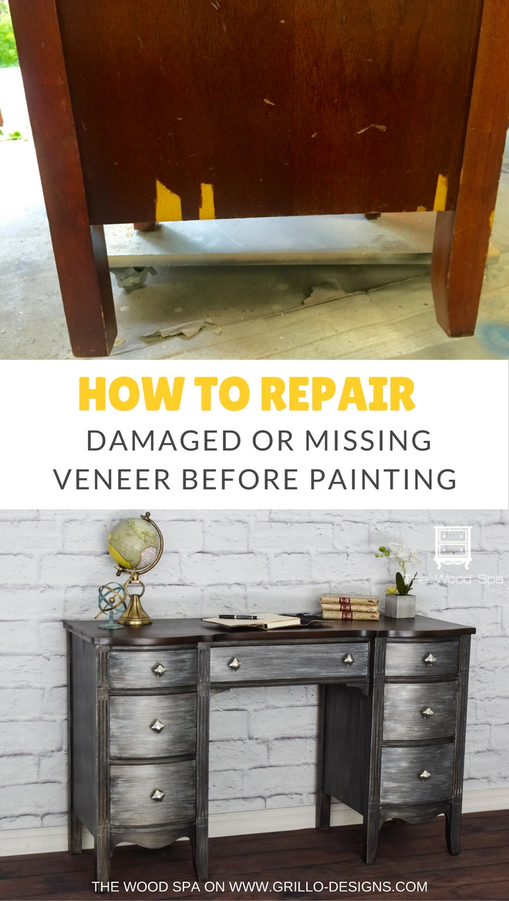 REPAIR DAMAGED VENEER PINTEREST