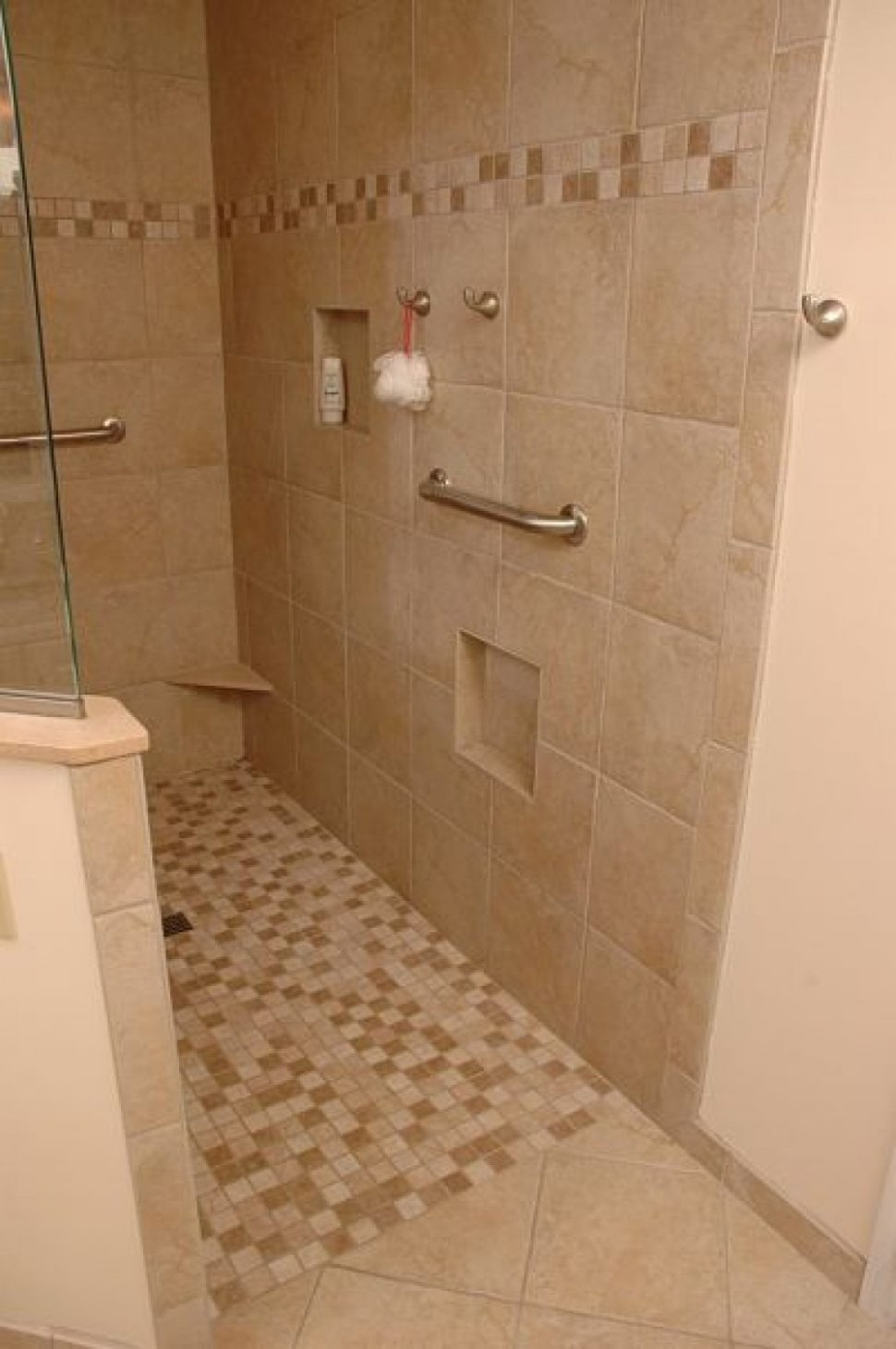 Walk In Shower Ideas without Doors Awesome the Lovely Small Bathroom Walk In Shower No Door Ideas Wall