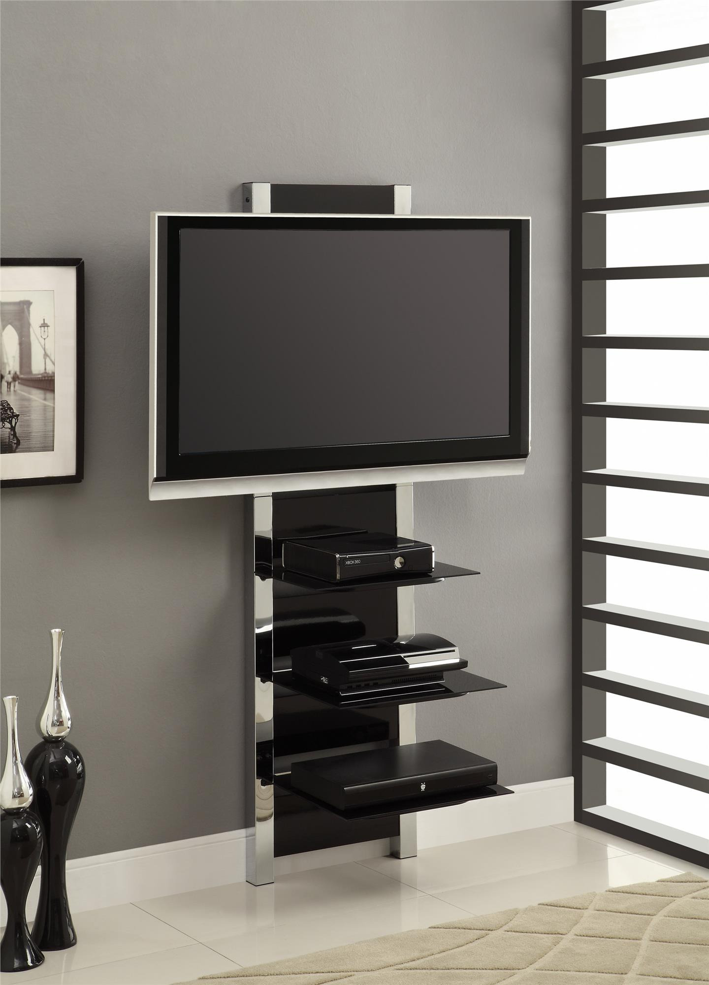 Wall Mount Tv Stand Calgary Cabinet With Doors Dealers In Bangalore