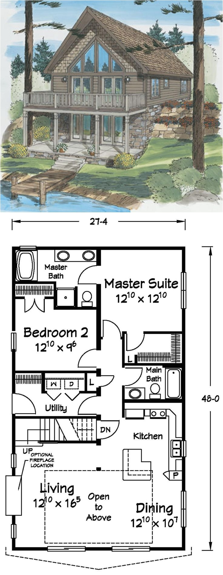 Waterfront Narrow Lot House Plans Lovely Home Plans for Narrow Lots