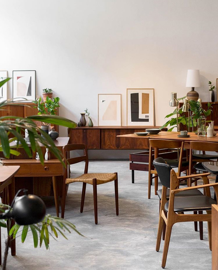 here are the 10 best places to shop for vintage scandinavian design