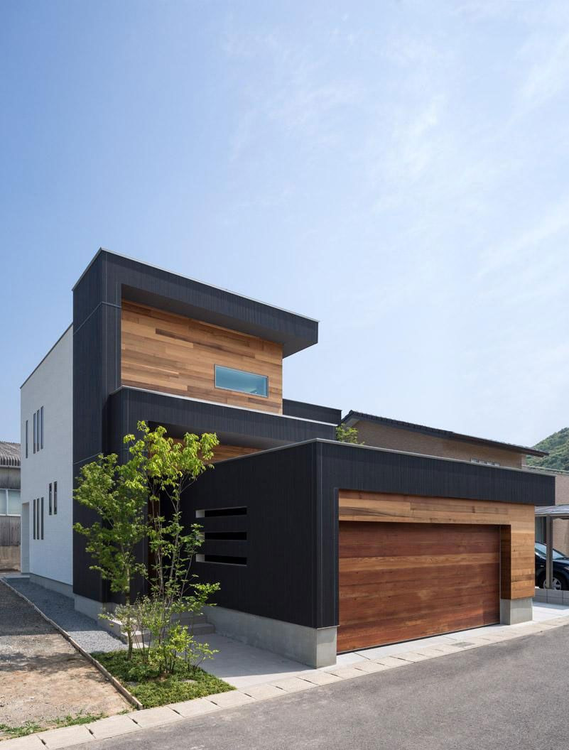 Wonderful House In the World Beautiful Wooden Nuances Defining the M4 House In Nagasaki Japan