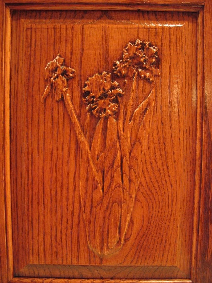 Wood Cabinet Doors Lovely Hand Made Flower Carvings Cabinet Doors by Whittled In