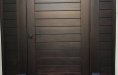 Wooden Gate Entrance Designs Elegant Custom Contemporary Wood Gate With Matching Panels By Garden