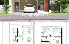 3d House Designs And Floor Plans Beautiful 3d House Design Plans With 3 Bedrooms Plot 10x20m
