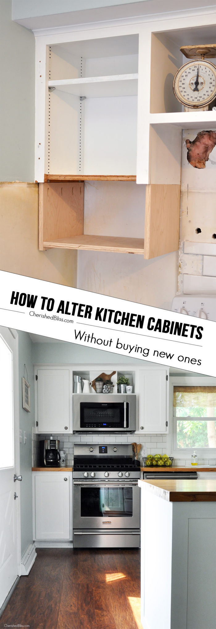 How to Alter Kitchen Cabinets 700x2033