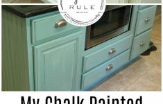 Applying Wood Trim To Old Kitchen Cabinet Doors Awesome My Chalk Painted Cabinets 4 Years Later How Did They Do