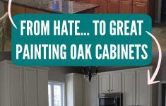 Applying Wood Trim To Old Kitchen Cabinet Doors Unique From Hate To Great A Tale Of Painting Oak Cabinets