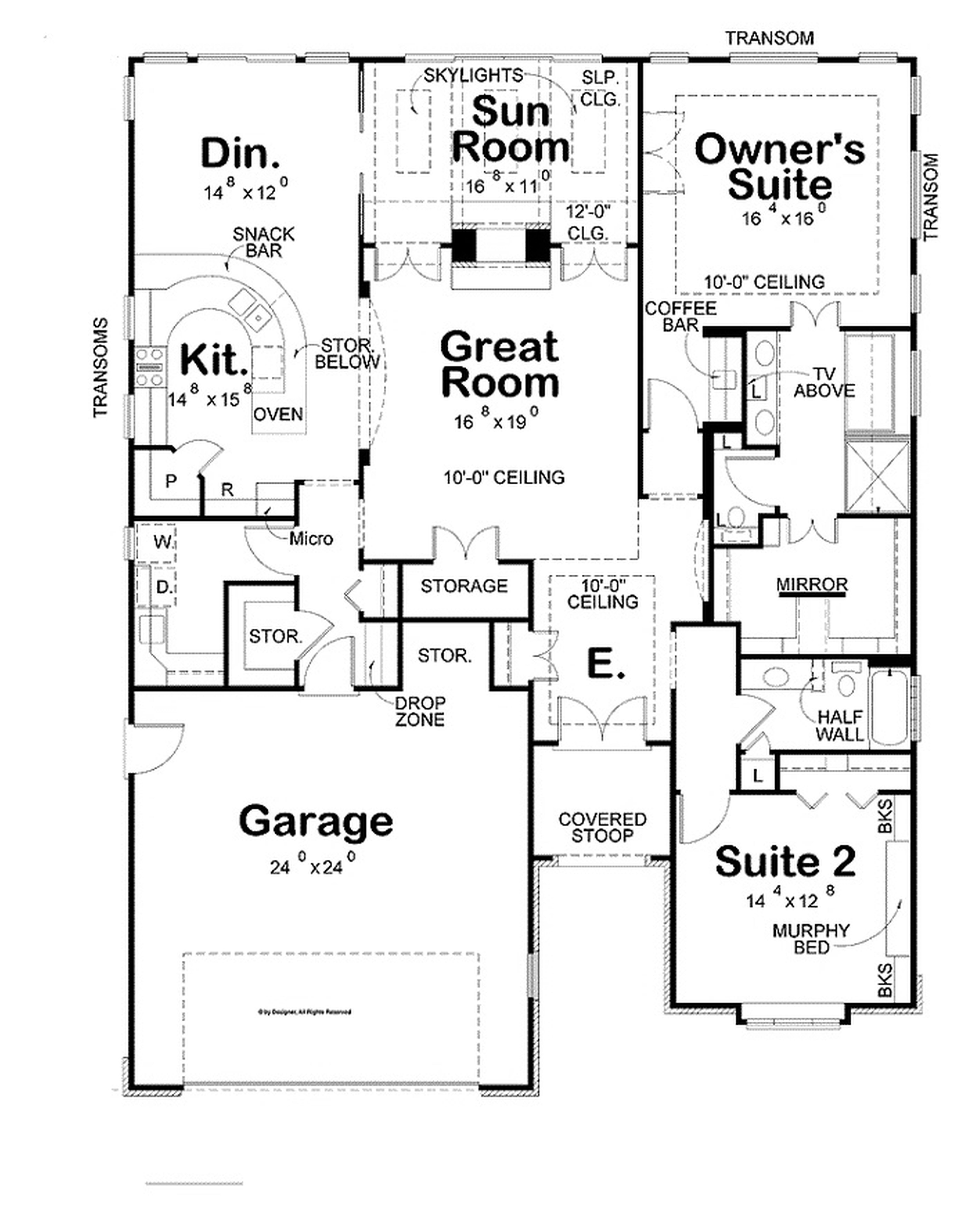 house drawing ideas 20