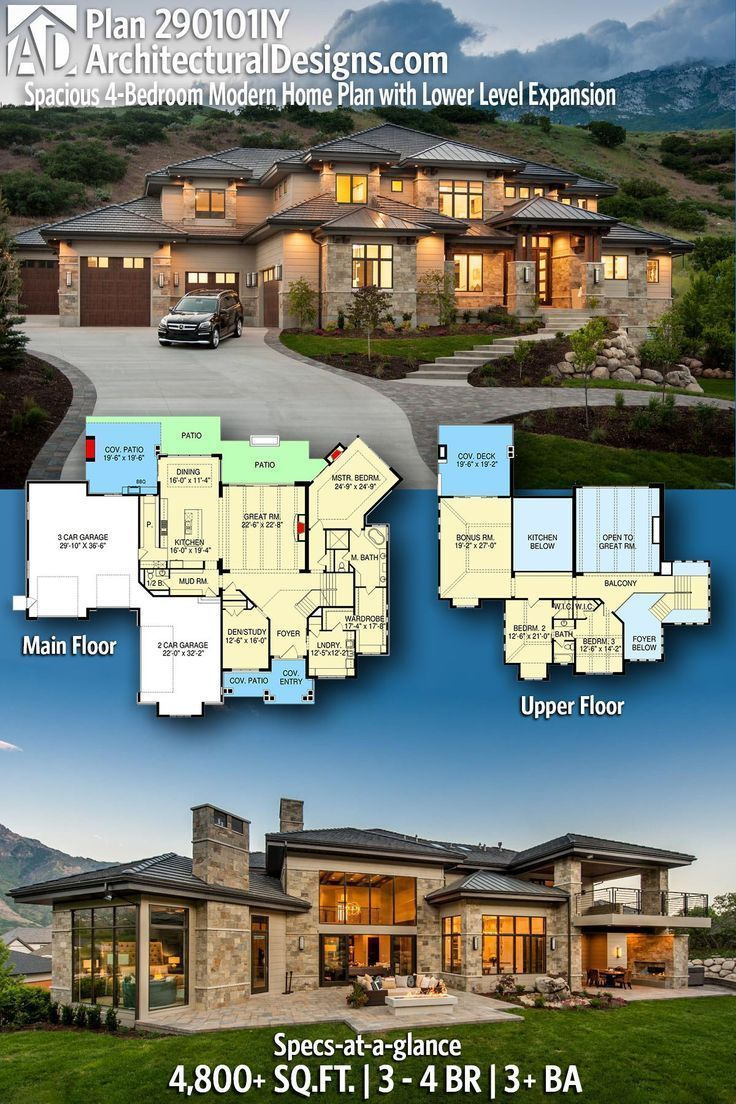 Architecturally Designed House Plans Best Of Modernes Haus Pläne Architectural Designs Modernes Haus