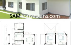 Autocad House Plans Free Download New House Plans 8 5x15 With 4 Bedrooms House Plans Free