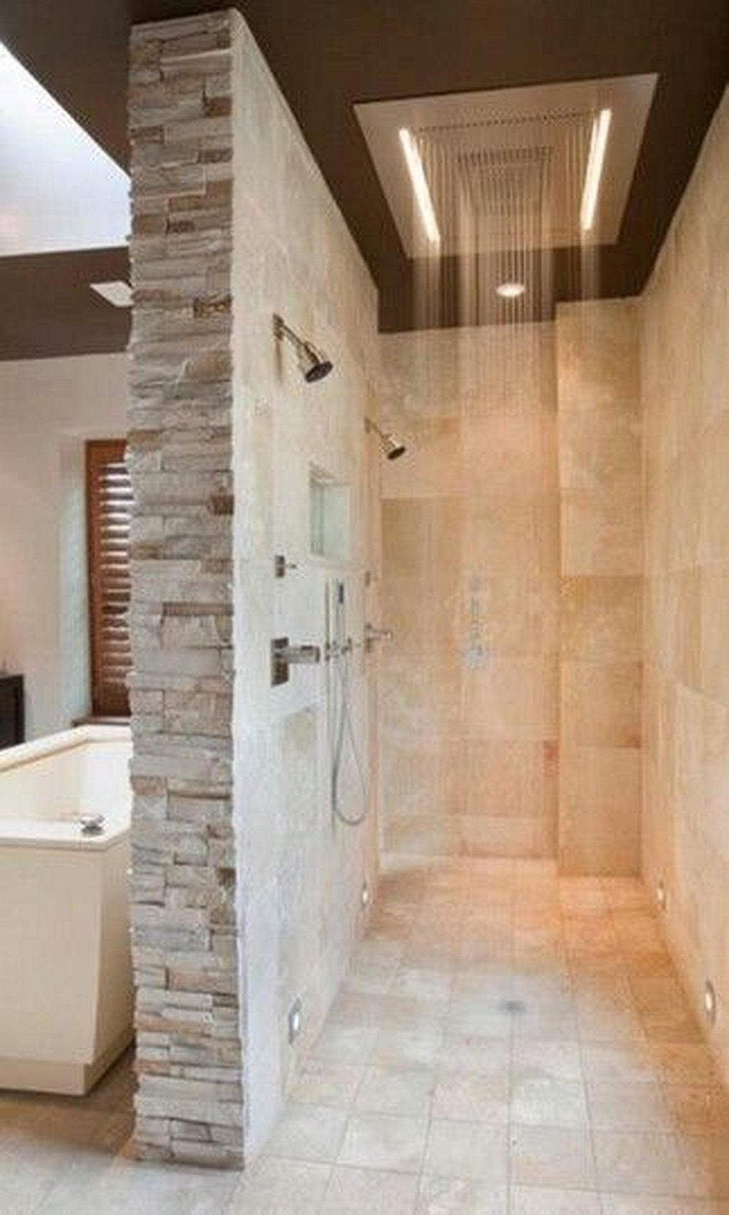 Master Bathroom Walk In Shower Ideas 6