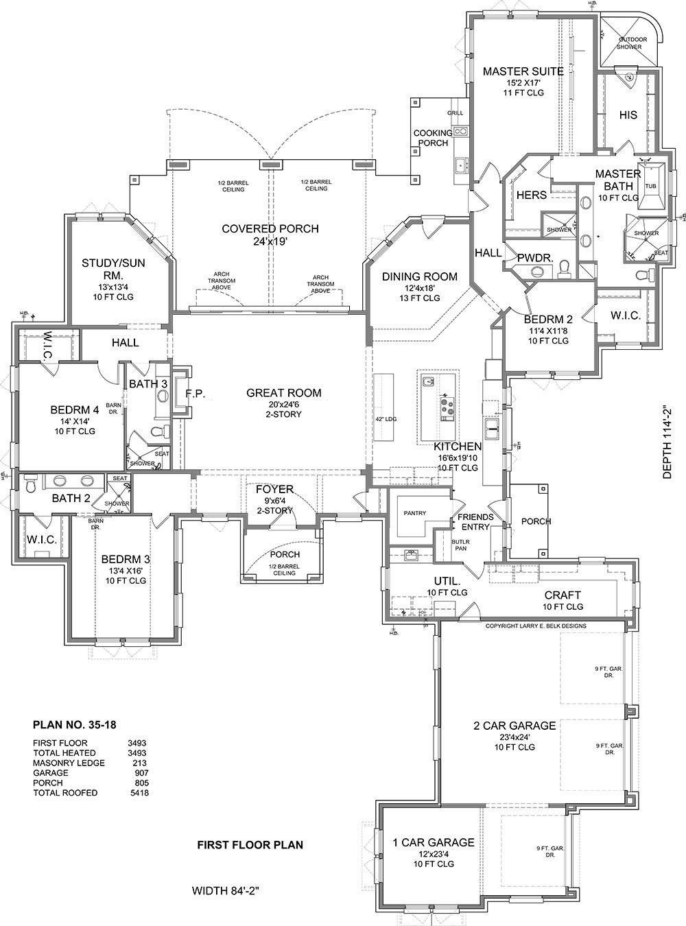 Barn Shaped House Plans Best Of European One Story House Plan