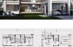 Beautiful Home Architecture Plans Awesome Home Design Plan 17x14m With 4 Bedrooms Home Design With