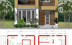 Beautiful House Designs And Plans Beautiful House Plan 6 5x7 5m With 2 Bedrooms A2 Sam House Plans In