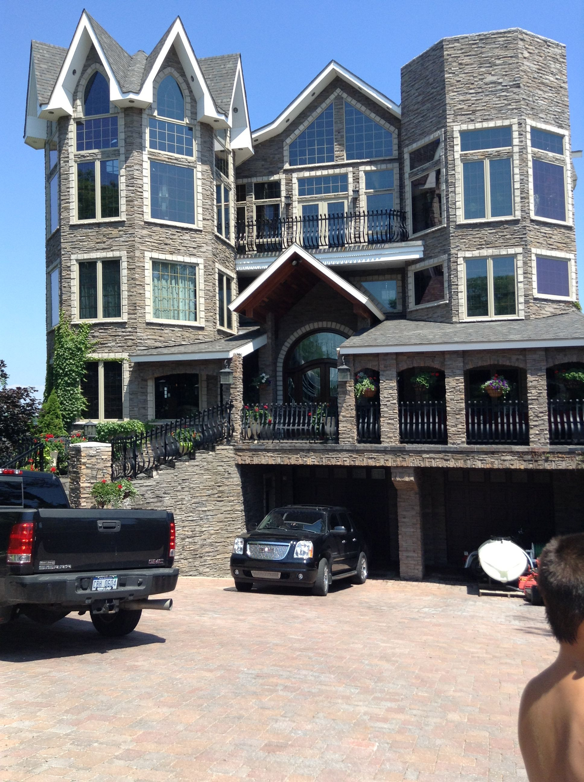 Beautiful Houses Inside and Out New Huge House From Mackinaw City Want