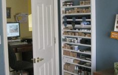 Behind The Door Storage Cabinet Inspirational Ask Cindy Scraproom Tour