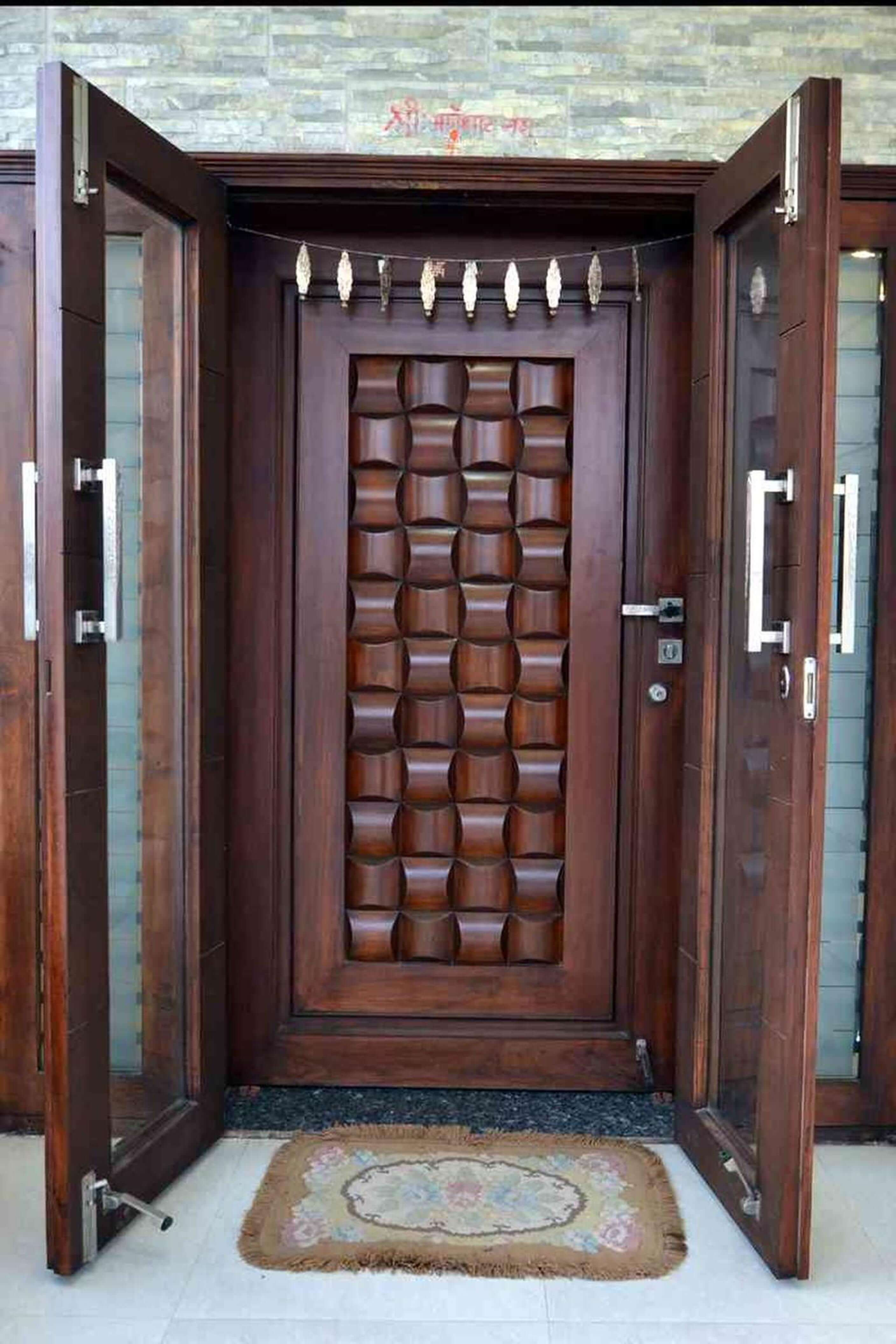 unique 50 modern and classic wooden main door design ideas