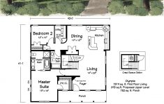Best Small House Floor Plans Luxury A Great Cabin Floor Plan Awesome Kitchen And Loft