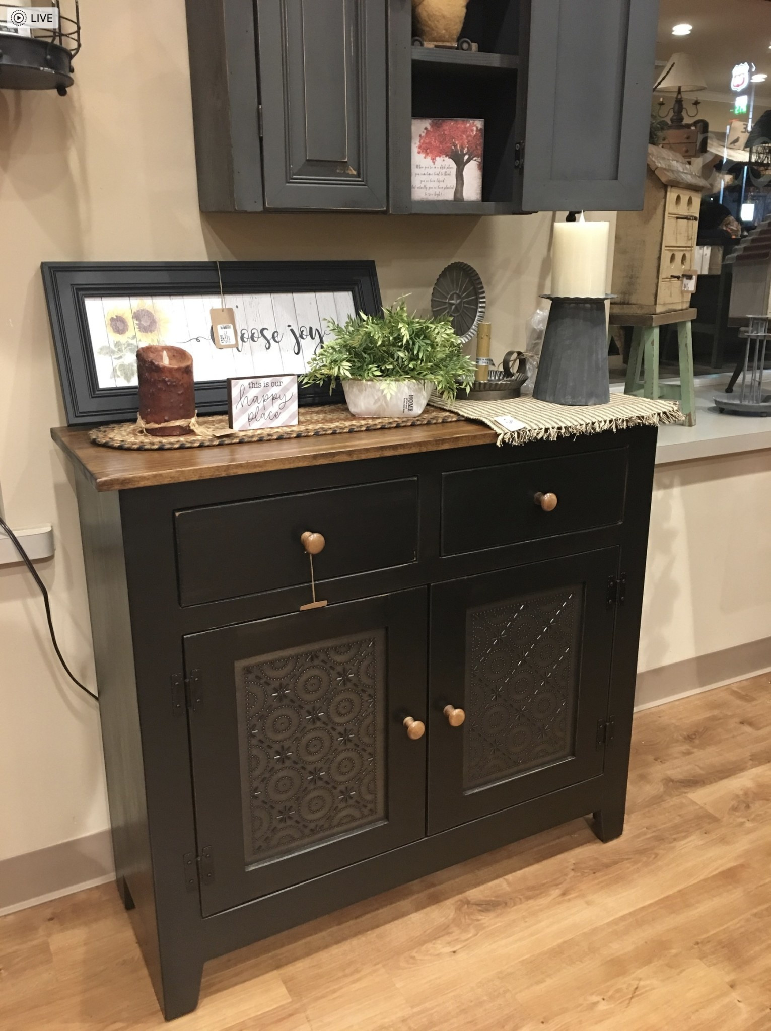 Black Storage Cabinet with Doors Lovely Farmhouse Black Punched Old Mill Tin Two Door Storage Cabinet