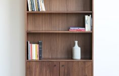 Bookshelf Cabinet With Doors Best Of Douglas Tall Bookcase – Hedge House Furniture