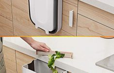 Cabinet Door Trash Can Lovely Details About Hanging Trash Can Pact Garbage Waste Bin Folded For Kitchen Cabinet Door Car