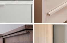 """Cabinets Without Doors Beautiful Is """"no Hardware"""" The New Hardware Trend For Kitchens"""