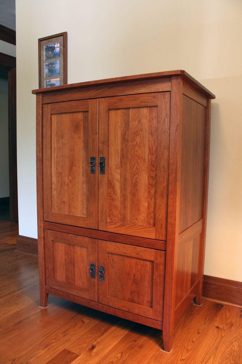 Cd Cabinet with Doors Best Of Custom Armoire Media Cabinet by Montana Cabinet & Canoe