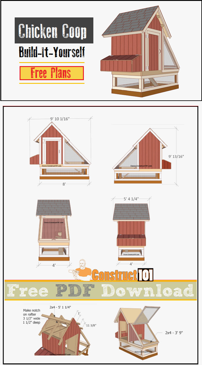 hen house plans free best of chicken coop plans 1 pdf things to try