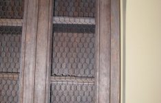 Chicken Wire Cabinet Doors Lovely Rustic Farm Cabinet With Chicken Wire
