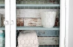 Chicken Wire Cabinet Doors Luxury Medicine Cabinet Update Twice The Fun Prodigal Pieces