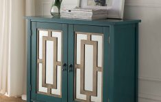 Console Cabinet With Doors Best Of Buy Kings Brand Antique Blue Buffet Server Cabinet Console