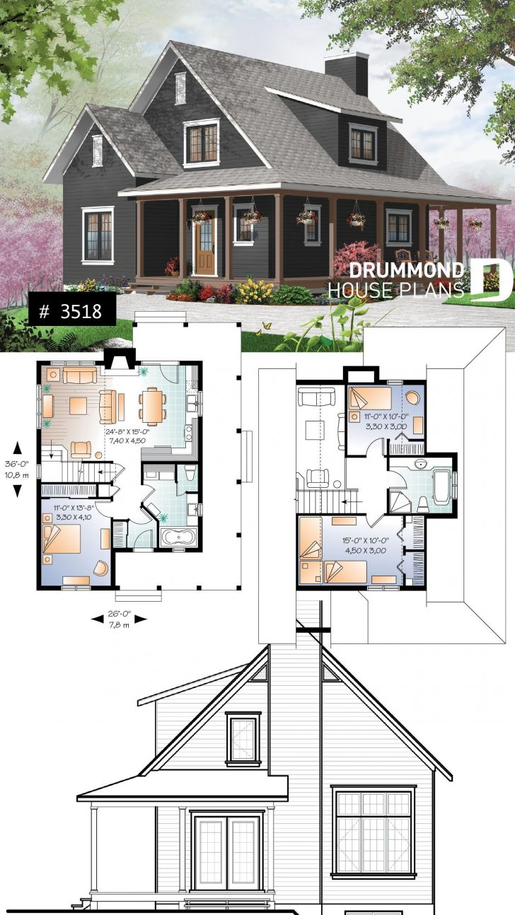 Cottage House Plans with Photos 2020